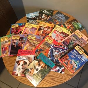 Huge Kids Mystery Chapter Book Lot